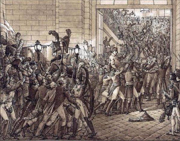 Triumfalny powrót do Tuileries